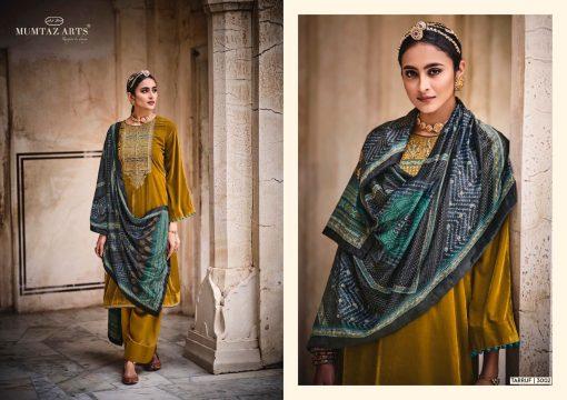 Mumtaz Arts Tarruf Velvet Vol 3 Salwar Suit Wholesale Catalog 8 Pcs 4 510x360 - Mumtaz Arts Tarruf Velvet Vol 3 Salwar Suit Wholesale Catalog 8 Pcs