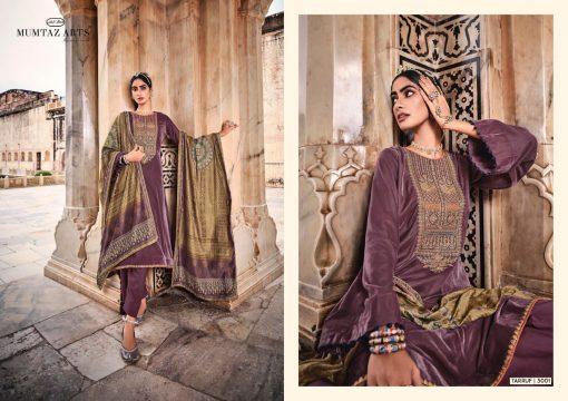 Mumtaz Arts Tarruf Velvet Vol 3 Salwar Suit Wholesale Catalog 8 Pcs 8 510x360 - Mumtaz Arts Tarruf Velvet Vol 3 Salwar Suit Wholesale Catalog 8 Pcs