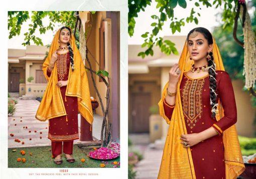 Panch Ratna Meenakari by Kessi Salwar Suit Wholesale Catalog 5 Pcs 3 510x357 - Panch Ratna Meenakari by Kessi Salwar Suit Wholesale Catalog 5 Pcs