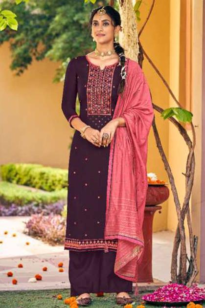 Panch Ratna Meenakari by Kessi Salwar Suit Wholesale Catalog 5 Pcs