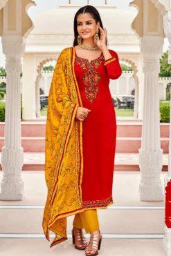 Panch Ratna Odhani by Kessi Salwar Suit Wholesale Catalog 5 Pcs