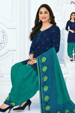 Pranjul Priyanka Vol 10 A Readymade Suit Wholesale Catalog 15 Pcs