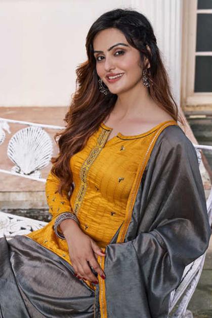 Rangoon Sigma by Kessi Readymade Salwar Suit Wholesale Catalog 6 Pcs