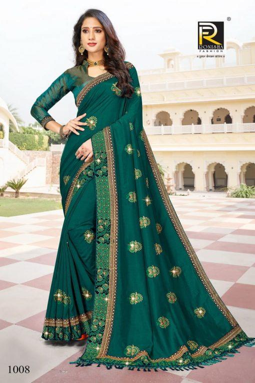 Ranjna Malhar Saree Sari Wholesale Catalog 8 Pcs 8 510x765 - Ranjna Malhar Saree Sari Wholesale Catalog 8 Pcs