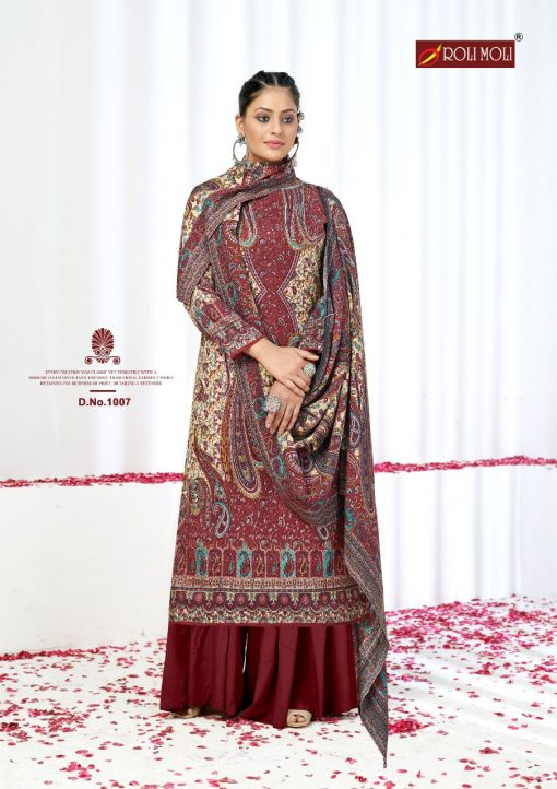 Roli Moli Elite Pashmina Salwar Suit Wholesale Catalog 8 Pcs 6 510x722 - Roli Moli Elite Pashmina Salwar Suit Wholesale Catalog 8 Pcs