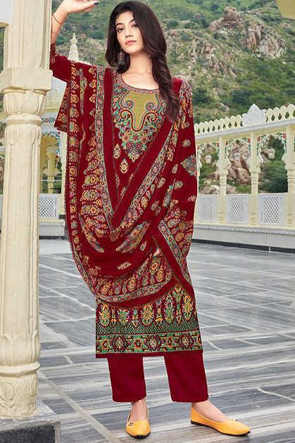 Roli Moli Elite Vol 2 Pashmina Salwar Suit Wholesale Catalog 8 Pcs