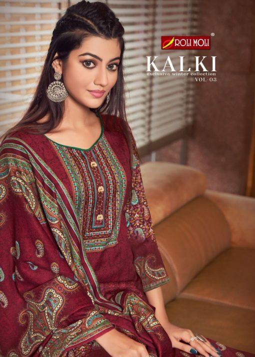Roli Moli Kalki Vol 3 Pashmina Salwar Suit Wholesale Catalog 8 Pcs 6 510x714 - Roli Moli Kalki Vol 3 Pashmina Salwar Suit Wholesale Catalog 8 Pcs