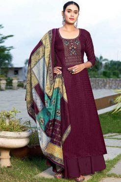 Roli Moli Kaushikii Pashmina Salwar Suit Wholesale Catalog 8 Pcs
