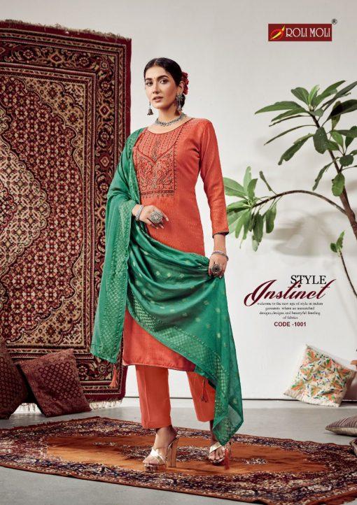 Roli Moli Lahja Pashmina Salwar Suit Wholesale Catalog 6 Pcs 1 510x722 - Roli Moli Lahja Pashmina Salwar Suit Wholesale Catalog 6 Pcs