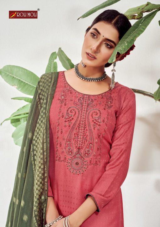 Roli Moli Lahja Pashmina Salwar Suit Wholesale Catalog 6 Pcs 12 510x722 - Roli Moli Lahja Pashmina Salwar Suit Wholesale Catalog 6 Pcs