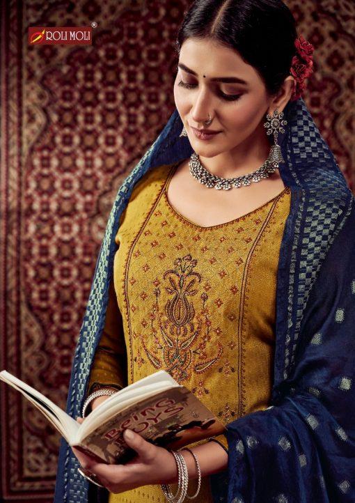 Roli Moli Lahja Pashmina Salwar Suit Wholesale Catalog 6 Pcs 13 510x722 - Roli Moli Lahja Pashmina Salwar Suit Wholesale Catalog 6 Pcs