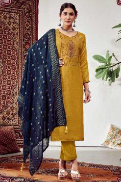 Roli Moli Lahja Pashmina Salwar Suit Wholesale Catalog 6 Pcs