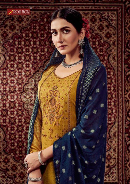 Roli Moli Lahja Pashmina Salwar Suit Wholesale Catalog 6 Pcs 4 510x722 - Roli Moli Lahja Pashmina Salwar Suit Wholesale Catalog 6 Pcs