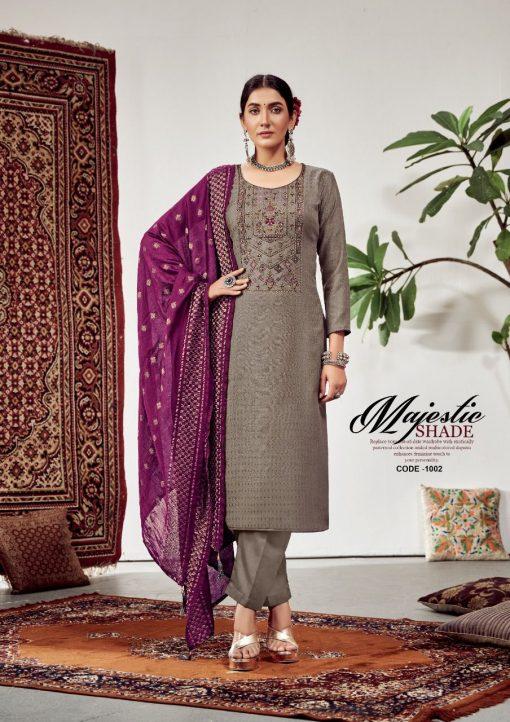 Roli Moli Lahja Pashmina Salwar Suit Wholesale Catalog 6 Pcs 6 510x722 - Roli Moli Lahja Pashmina Salwar Suit Wholesale Catalog 6 Pcs