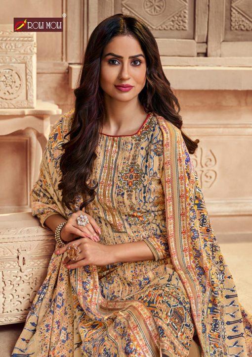 Roli Moli Zaara Vol 2 Pashmina Salwar Suit Wholesale Catalog 8 Pcs 17 510x721 - Roli Moli Zaara Vol 2 Pashmina Salwar Suit Wholesale Catalog 8 Pcs