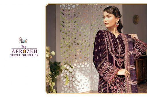 Shree Fabs Afrozeh Velvet Pashmina Collection Salwar Suit Wholesale Catalog 5 Pcs 8 510x340 - Shree Fabs Afrozeh Velvet Pashmina Collection Salwar Suit Wholesale Catalog 5 Pcs