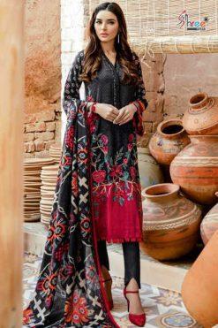 Shree Fabs Firdous Winter Collection Pashmina Salwar Suit Wholesale Catalog 7 Pcs