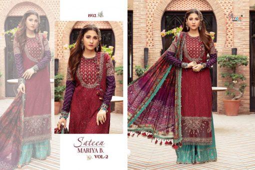 Shree Fabs Sateen Mariya B Vol 2 Salwar Suit Wholesale Catalog 4 Pcs 5 510x340 - Shree Fabs Sateen Mariya B Vol 2 Salwar Suit Wholesale Catalog 4 Pcs