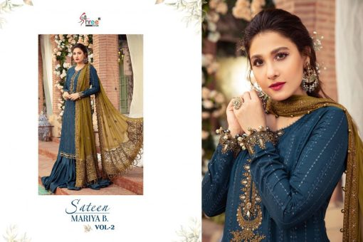 Shree Fabs Sateen Mariya B Vol 2 Salwar Suit Wholesale Catalog 4 Pcs 8 510x340 - Shree Fabs Sateen Mariya B Vol 2 Salwar Suit Wholesale Catalog 4 Pcs