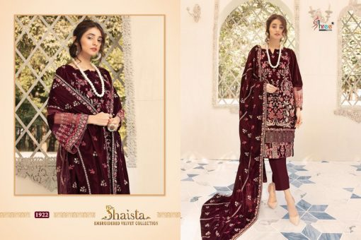Shree Fabs Shaista Embroidered Velvet Collection Salwar Suit Wholesale Catalog 5 Pcs 4 510x340 - Shree Fabs Shaista Embroidered Velvet Collection Salwar Suit Wholesale Catalog 5 Pcs