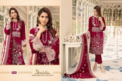 Shree Fabs Shaista Embroidered Velvet Collection Salwar Suit Wholesale Catalog 5 Pcs 7 510x340 - Shree Fabs Shaista Embroidered Velvet Collection Salwar Suit Wholesale Catalog 5 Pcs