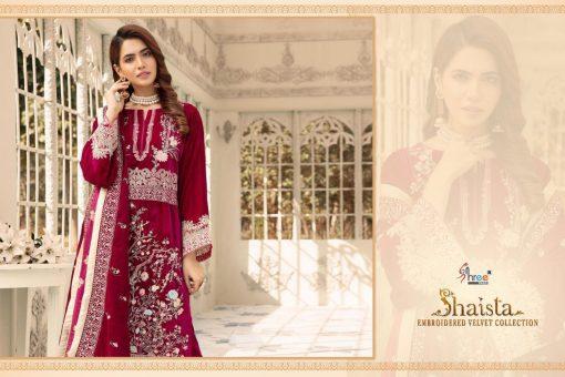 Shree Fabs Shaista Embroidered Velvet Collection Salwar Suit Wholesale Catalog 5 Pcs 8 510x340 - Shree Fabs Shaista Embroidered Velvet Collection Salwar Suit Wholesale Catalog 5 Pcs