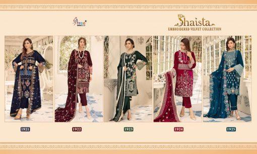 Shree Fabs Shaista Embroidered Velvet Collection Salwar Suit Wholesale Catalog 5 Pcs 9 510x306 - Shree Fabs Shaista Embroidered Velvet Collection Salwar Suit Wholesale Catalog 5 Pcs