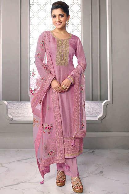 Vinay Kaseesh Infinity Salwar Suit Wholesale Catalog 8 Pcs