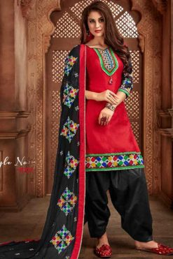 Z Black Patiyala Studio Vol 1 Salwar Suit Wholesale Catalog 6 Pcs