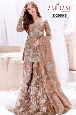 Zarqash Amalia Vol 2 DN 2056 by Khayyira Salwar Suit Wholesale Catalog 5 Pcs